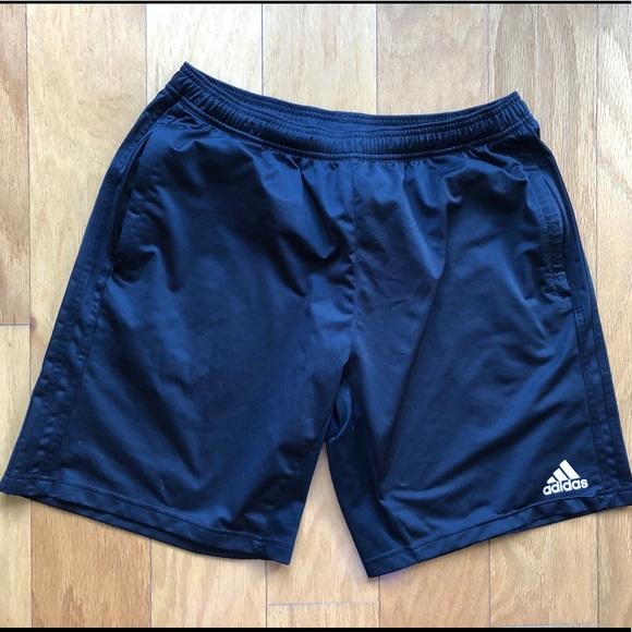 adidas shorts zipper pockets